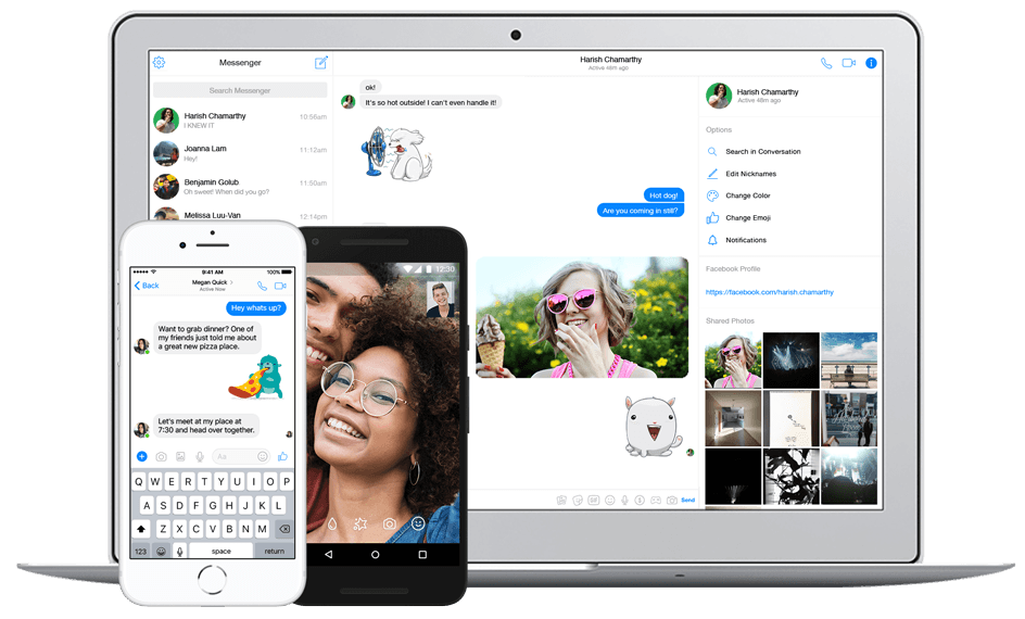 Video Call - FB Messenger